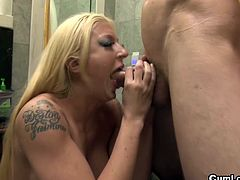 Alison Star likes having her pussy nailed hard and her mouth filled with warm jizz