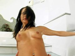 Black S is one hot-blooded brunette that loves anal sex. She takes dudes love torpedo in her asshole over and over again. She gets slammed in the ass in many positions before her fuck buddy busts a nut.