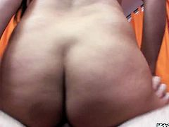 Black haired gal can boast of nice rounded big ass. Zealous chick with nice boobs is fond of riding a dick, as well as sucking lollicock for sperm. Doggy turns into mish. Gosh, you surely need to see this versatile filth in Pornstar sex clip to jizz at once.