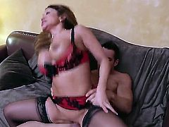 Johnny Castle is horny as hell and cant wait any more to pound Ava Devine with his hard worm