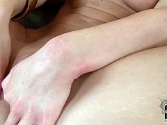 Sweet like angel girl fingerfucks her pussy in solo. She is gorgeous and adorable. Enjoy her palatable tits and nice shaved pussy in DDF Network sex tube video.