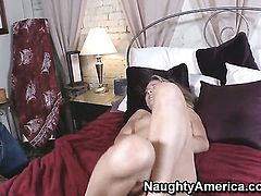 Amanda Blow looks for a chance to get orgasm after hard love box fucking with Danny Wylde