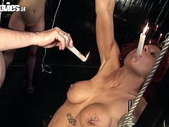 Are you looking for the hot and steamy BDSM sex tube video for free? You are right here to enjoy hot fun movie where two hussy whores gets punished.