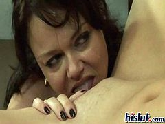 Bella Von Blue and Elli Foxx sit in an office giving you two upskirts while discussing whether or not the small titted brunette will be hired by the brunette. When she was asked of her sexual preferences and admitted to being a lesbian she was h