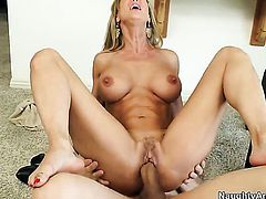 Bruce Venture is horny and cant wait no more to bang sinfully sexy Brandi Loves wet hole