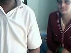 Spoiled brunette Indian chick and her boyfriend turn on webcam. Bitch in traditional gown smiles mysteriously. Then ugly whore shows her natural droopy tits on cam proudly. Well, if you're interested in Lewd Indian nymphos, then you'd better check out this Indian Sex Lounge XXX clip.