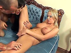 Antonya, Jasmine Black and Mandy Dee are all involved in this amazing hardcore threesome