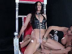 Smoking hot wild cock addicted bombshells Ariella Ferrera, India Summer and Veronica Avluv with big tits and sexy bodies pleasure filthy Keiran Lee with big cock in mind blowing fantasy.