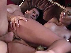 Her juicy tits bounce with joy while she rides her boyfriend's dick. Be pleased with one another steamy sex tube video from Indian Sex Lounge porn site.