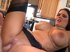 Mackenzee Pierce is one of the hottest babes in the game! She really loves to have sex and this guy makes her world complete. He fucks her like crazy and treats her like a whore.