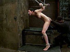 This BDSM action has no philosophy, only meat and pain! So, Heather Vahn, a gorgeous siren, gets some act of humiliation towards her!