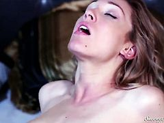 Lily LaBeau has oral experience of her lifetime with hot dude Xander Corvus
