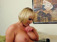 Johnny Castle loves to fuck cute milf blondes and Mellanie Monroe fits in that profile