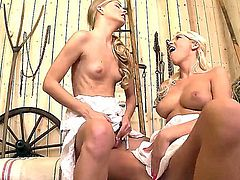 Cayenne Klein and Karol Lilien aka Sarol are so damn hot lesbians who love to get at one another