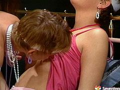 This is retro sex video of three naughty mature sluts. Lustful aunties pussy licking in a hot lesbian 3some porn clip performing how good they are in action. If you are into naughty aunties with bearded clams this is the right video for you to watch and jerk off on.