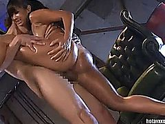 Awesome hot couple having awesome hardcore moments