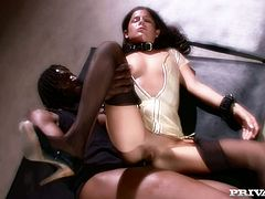Michelle Avanti gets her ass fisted and fucked hard by a black stud