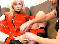 Anastasia Pierce and Emily are a bit kinky bitches and they are using clamps this time