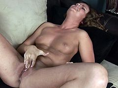 A slim amateur model strips naked and then starts masturbating for the camera till she gets an orgasm. Watch it all go down right here!