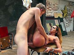 Alice Romain gets drilled deep by Danny D