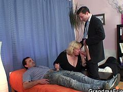 The guy was in love with his wife, but the sexual tension has faded away. They decided to arrange some couple therapy where he told the shrink he just could not bring himself to fucking her.The guys made her mouth sore and fucked the fat bitch through the hole in her pantyhose.Enjoy!