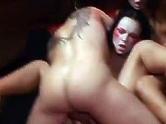 That is a very good idea to tape a hot zombie porn. Well, these chicks are the hottest zombies that love sharing a huge cock! Sex apocalypses!