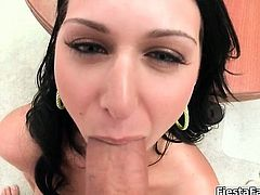 She gets on top of that hard cock slowly part3