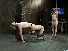 Bitch is abused in extreme bondage sex scene!