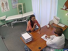 F.H - Married Woman With Fertility Problems Examined 1