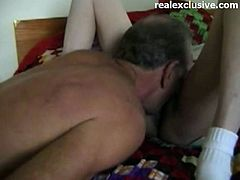 Self taped home porn from a small vilage in Texas He 61 and she 57 years Eating wifeys pussies and she sucking my cock We never get bored of this activity Next fucking my granny wife to an orgasm and shooting her pussy full with jizz once again