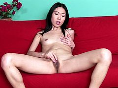 Enjoy this hot solo scene with a lusty Asian model