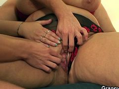 Check out this huge bbw chick and her amazing boobs. She got seduced by a complete stranger and opens her legs for his young stiff cock!