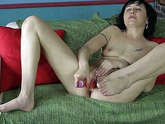 lubed and ready to masturbate