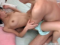 After all the hot oral sex going on in this 69 with the Japanese Chisato Matsud, it will be time to start with the hardcore fucking action.