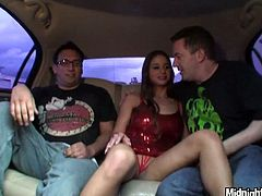 Luscious bitch Cathy Heaven is never enough for sex. So she loves when she's two cocks at once. Watch her fucks furiously in hardcore MMF threesome porn scene. Cathy performs outstanding talent pleasing two big dicks on a high level.