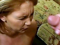 Big ass of this appetizing porn actress slides cock up and down. Horny stud penetrates nasty bitch in all possible styles and she enjoys cumshots at the end of theirs sex story.