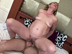 A dirty cock-sucking whore gets naked and starts sucking on that hard dick till the motherfucker busts a nut, check it out!