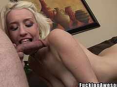 Here at Gagalicious we love seeing naughty cunts getting their mouth filled up with cock! Paige is one of those sweet blonde girls that deserve a deep hard fuck in her throat so she opens wide and receives dick between her pink lips. I drill her throat so hard that she tears! She loves it so maybe I will even cum!
