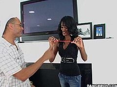 Take a look at this hardcore video where a sexy Indian babe has her sweet black pussy drilled by a monster cock.