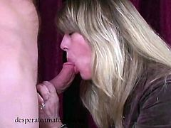 Tatiana Kush and other first timers suck cock for money