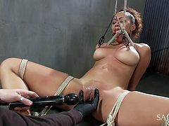 serena ali gets tied up and exploited