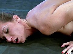 handcuffed, electrocuted and fucked