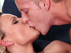 She already was in the greatest state of female orgasm.Her passion guy behind of her put his cock into her asshole.Their sex game was so adventurous and palatable.