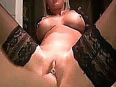 Horny amateur wife has her loose pussy fisted hard and deep till she reaches a satisfying orgasm