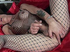 Jennifer English solo dildo