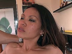 Lady Mai will have to face two troubles today which are called Juan-Z and Nick Moreno. The sensual Filipina stars our BreakingAsses series but as we already know in CumLouder, she likes to feel completely full and she's also able to handle two cocks like these perfectly. So there is no trouble at all, Lady Mai is happy and wishing to fuck, as always.