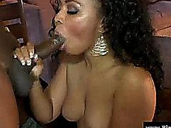 Big ass ebony babe Anita Peida drilled by a BBC