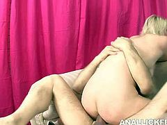 This sex-starved blonde Brittany Angel knows what she wants a does a good job of getting it. The girl doesn't know how to share as she takes this stud's cock for a long ride. Check out this hot sex video because there's plenty of lesbo action going on.
