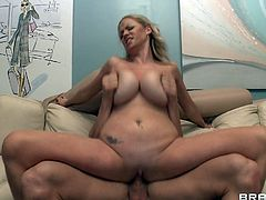 Nothing makes her more nasty than a huge cock fucking her brains out in hardcore