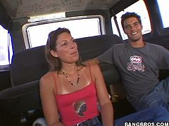 Have a look at this hot scene where a sexy babe's banged in the bang bus as you hear her moan and this vehicle roams the streets of Miami.